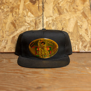 """Black By Nature. Nice By Choice."" Snapback Hat"