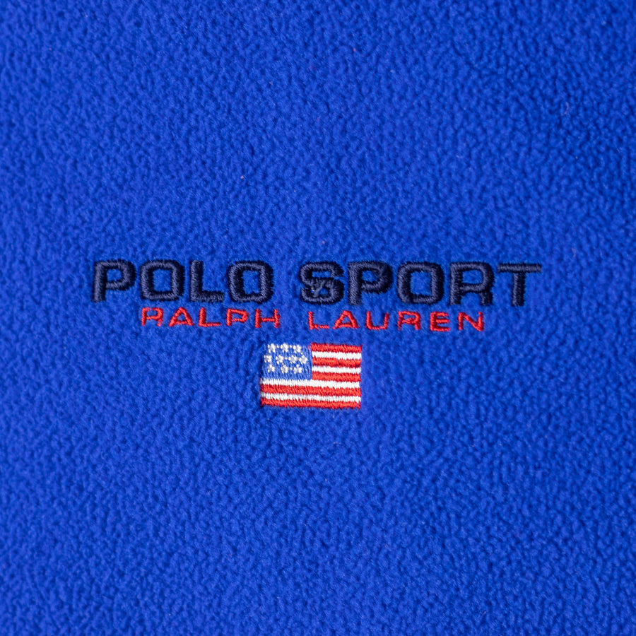 Vintage Polo Sport Reversible Jacket/Fleece Sweater