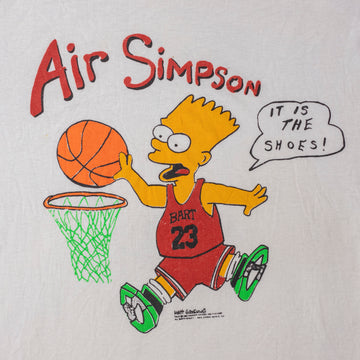 Vintage Air Simpson Single Stitch T-Shirt sz XL