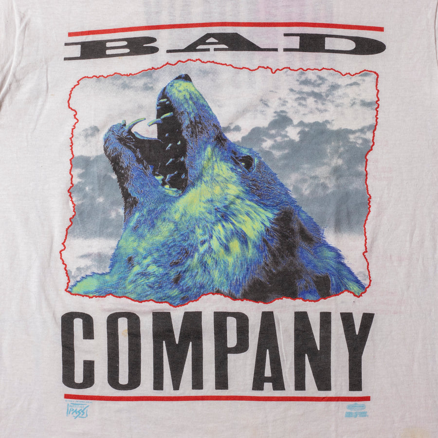 Vintage 90's Bad Company Single Stitch T-Shirt sz XL