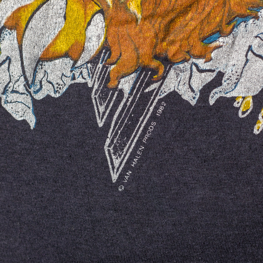 Vintage 80's Van Halen Single Stitch T-Shirt
