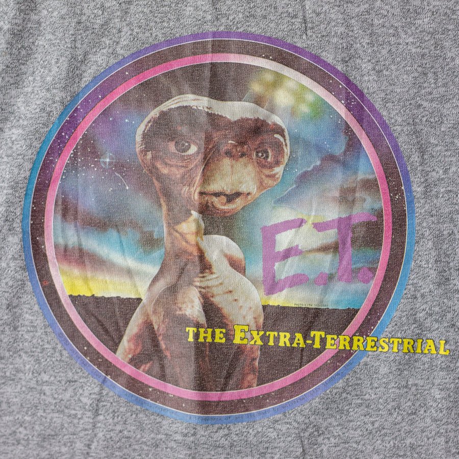 Vintage E.T. Single Stitch Baseball T-Shirt sz XL (Youth)
