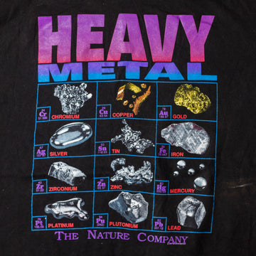 Vintage 80's Heavy Metal Single Stitch T-Shirt sz L