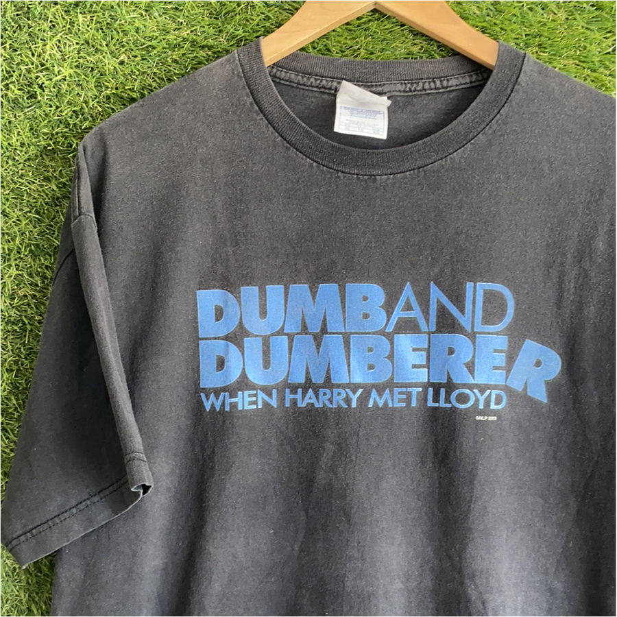 Vintage dumb and dumberer movie promo tshirt