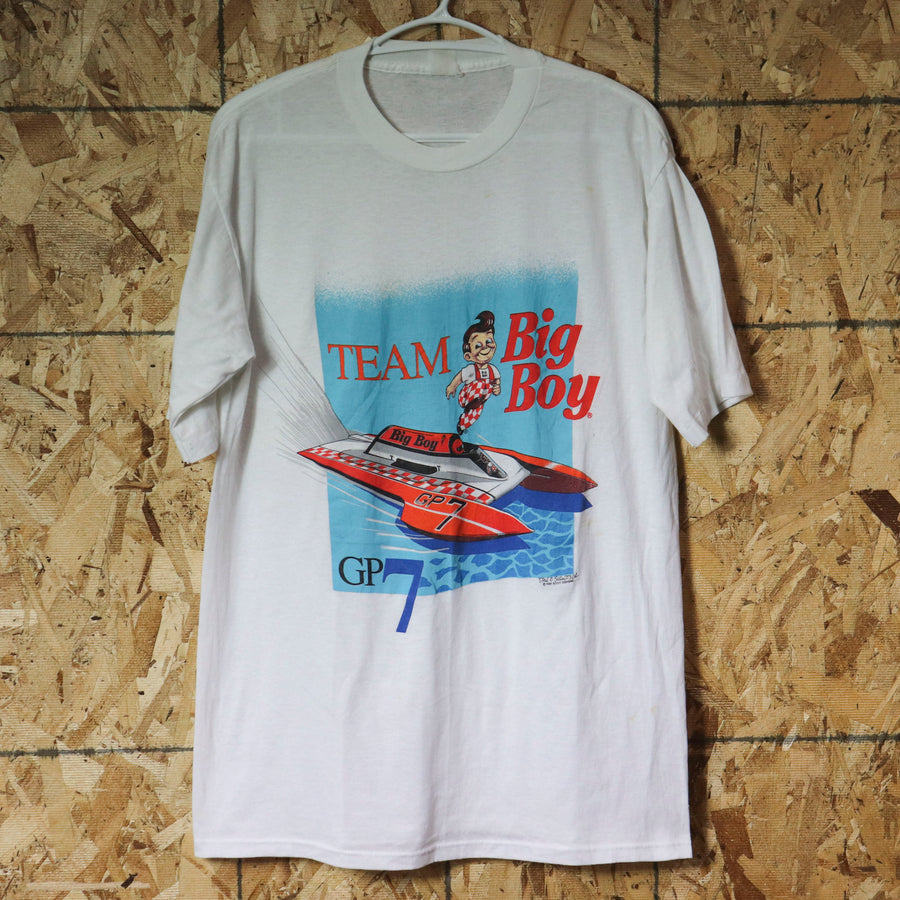 Vintage Team Big Boy G7 T-Shirt SZ N/A