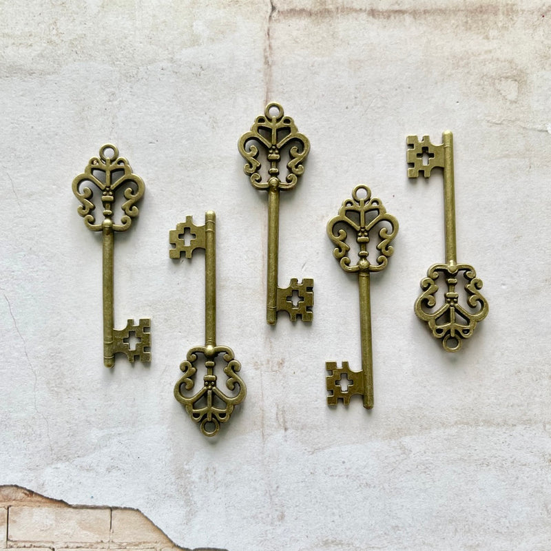 Brass Keys (5 pieces)