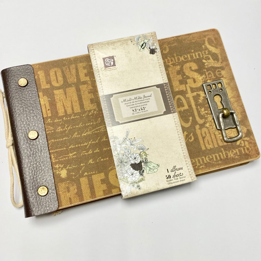 Prima Mixed Media Journal (8.7 x 5.7 inch)