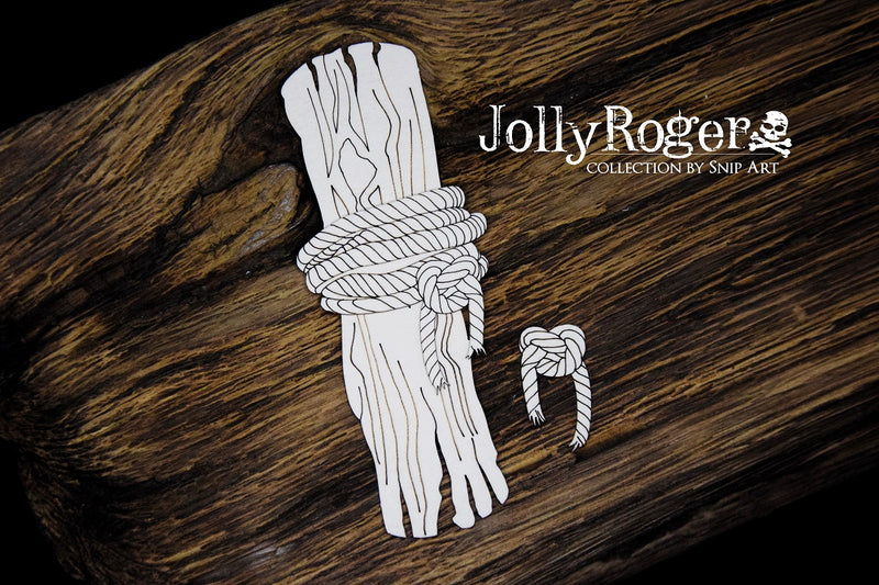 SnipArt - Jolly Roger Collection - Tree and Rope (S)