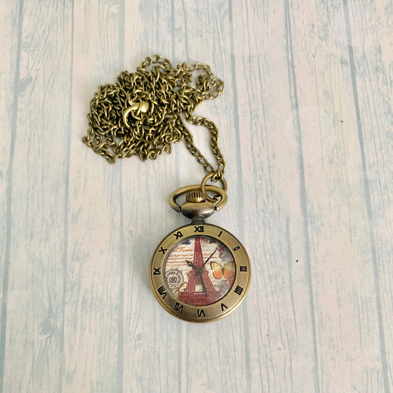 Small Pocket Watch: Paris