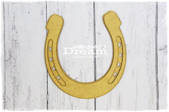 SnipArt - Amazone's Dream - Horse Shoe MDF