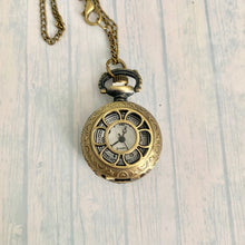 Load image into Gallery viewer, Small Pocket Watch: Daisy