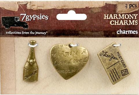 PREORDER - 7gypsies Charms: Harmony Wedding