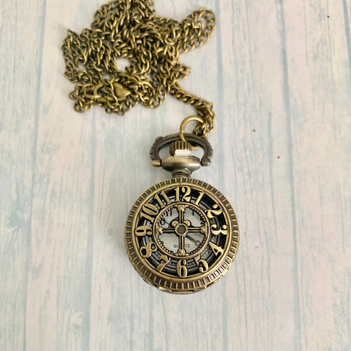 Small Pocket Watch: Numerals