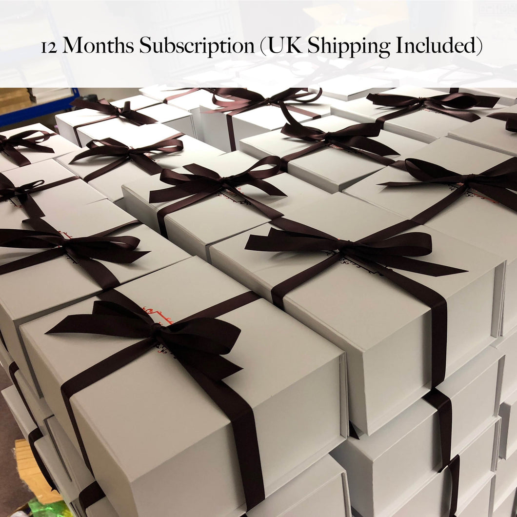 Subscription: 12-Month Plan (from January Craft Box)