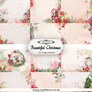 Beautiful Christmas 12x12 Paper Collection