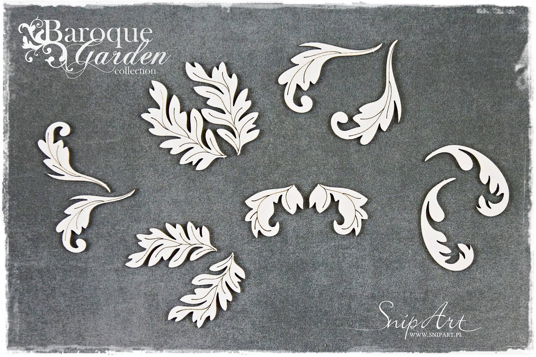 SnipArt - Baroque Garden Leaves (M)