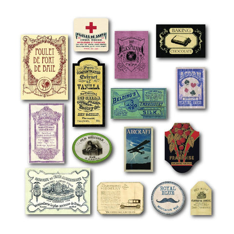 PREORDER - 7gypsies Mini Ephemera - Adverts