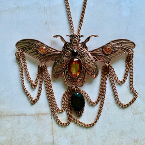 Steampunk Beetle Huge Steampunk Charm