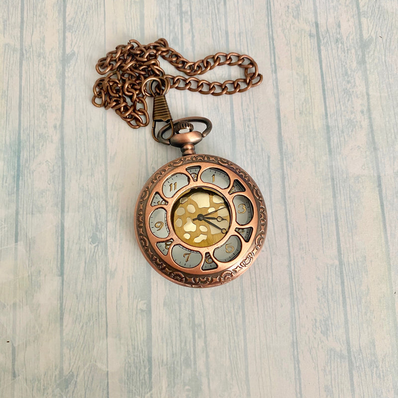 Large Pocket Watch: Copper
