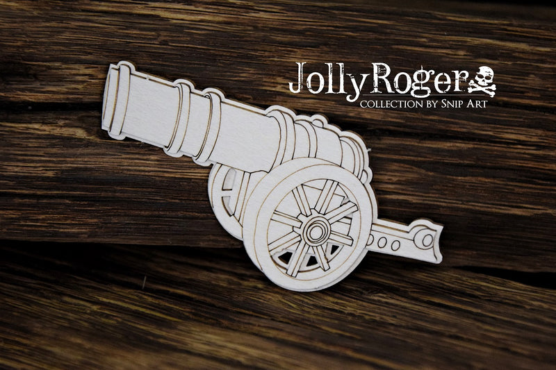 SnipArt - Jolly Roger Collection - Layered Cannon (M)