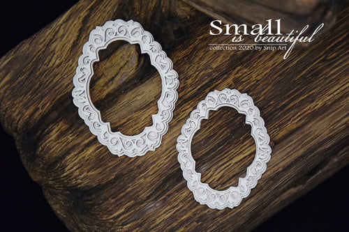 Small Is Beautiful - Oval Ornate Frames