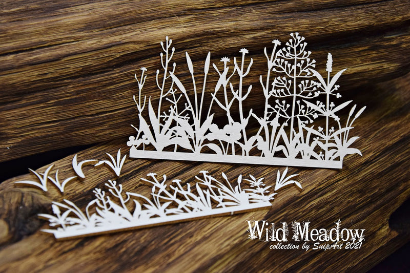 SnipArt - Wild Meadow - Borders