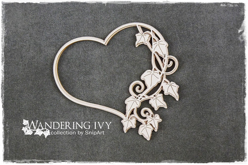 SnipArt - Ivy Frame Heart Layered (M)