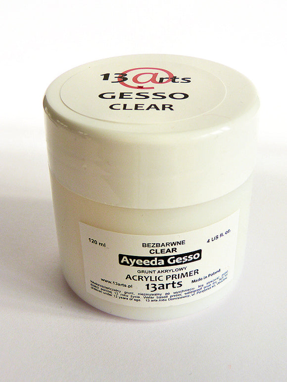 13Arts Clear Gesso (UK stock)