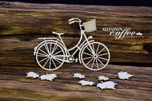 SnipArt - Autumn Coffee - Autumn Bicycle