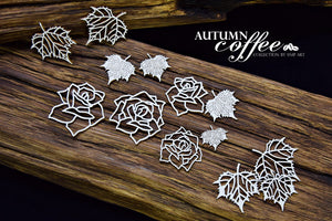 SnipArt - Autumn Coffee - Autumn Roses