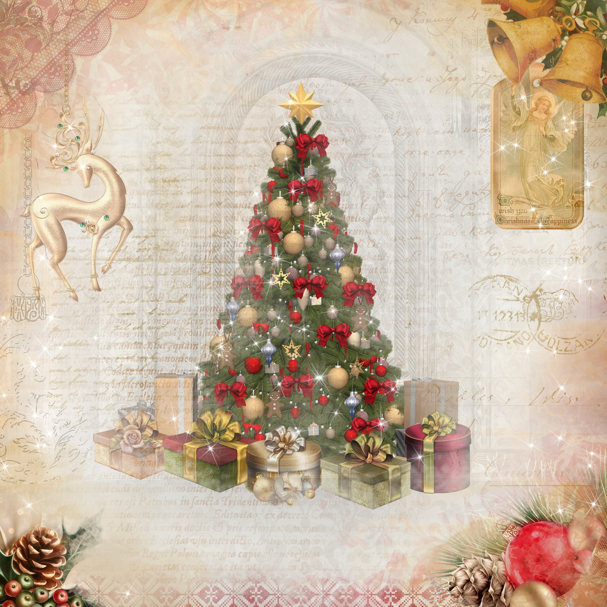 limited edition christmas tale 12x12 paper collection - Christmas Tale