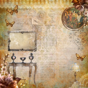 Vintage Treasures 12x12 Paper Collection
