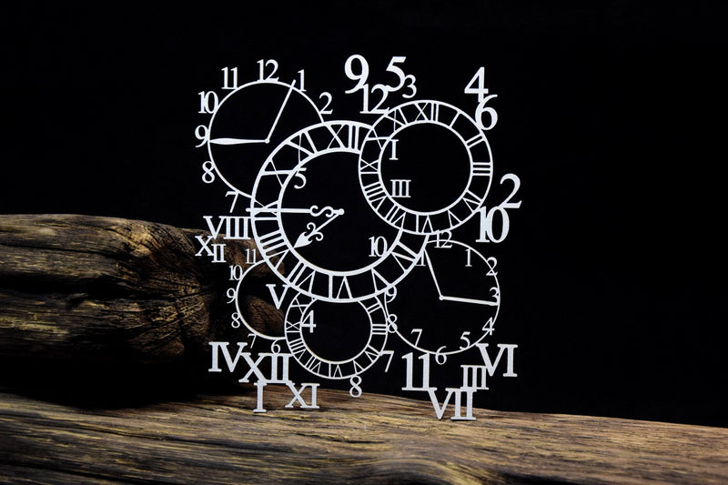 SnipArt - Clock Background (L)
