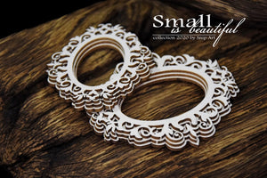 Small Is Beautiful - Oval Frame