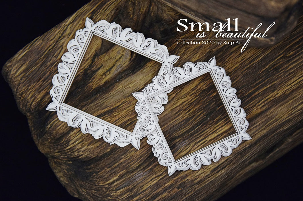 Small Is Beautiful - Square Frame