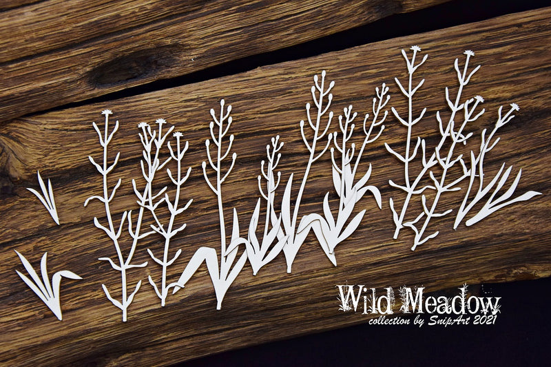SnipArt - Wild Meadow - Meadow Grass 1
