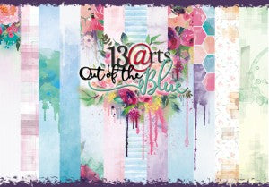 13Arts 12x12 Scrapbooking Papers Out of the Blue (PL Preorder)