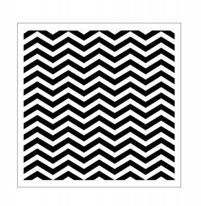 13Arts Stencil - Chevron Big (PL Preorder)