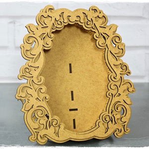 SnipArt - Baroque MDF Frame Oval (XXL)