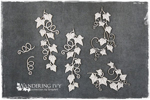 SnipArt - Ivy Branches with Swirls (L)