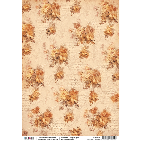 Ciao Bella Rice Paper - Autumn Whispers Suddenly Autumn