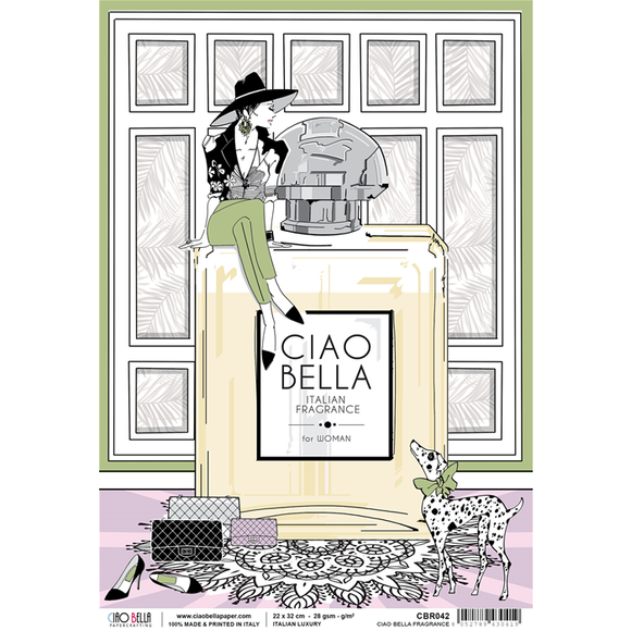 Ciao Bella Rice Paper - Italian Luxury Ciao Bella Fragrance