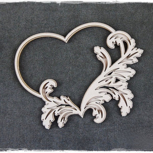 SnipArt - Baroque Heart Layered (M)