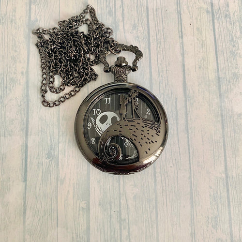 Large Pocket Watch: NBC Black
