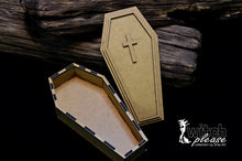 Load image into Gallery viewer, SnipArt - Witch Please - MDF Coffin