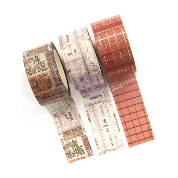Washi Tapes Prima Receipts