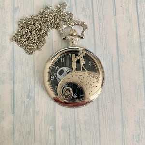 Large Pocket Watch: NBC Silver