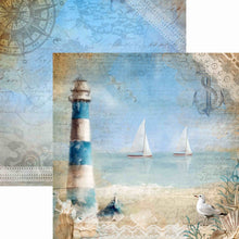 Load image into Gallery viewer, Seaside Stories 12x12 Paper Collection