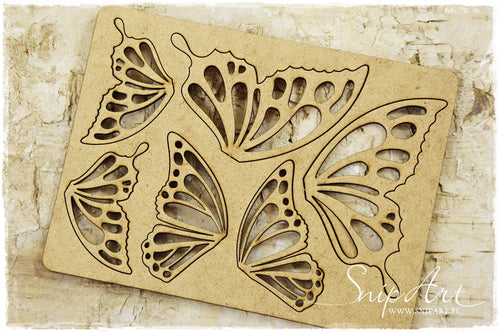 SnipArt - MDF Butterfly Set (M)