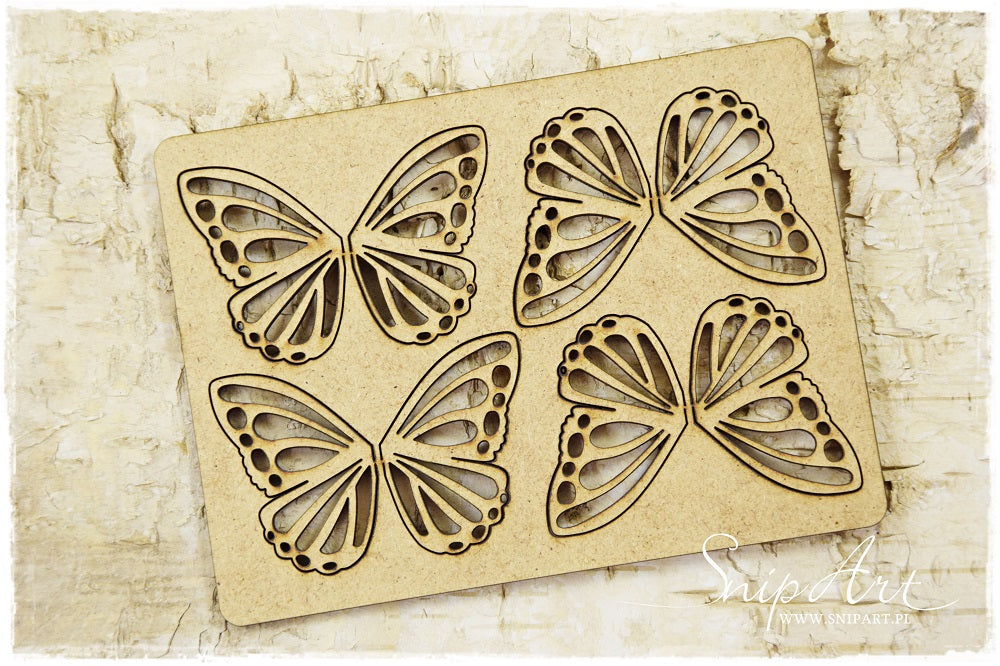 SnipArt - MDF Butterfly Set 2 (M)